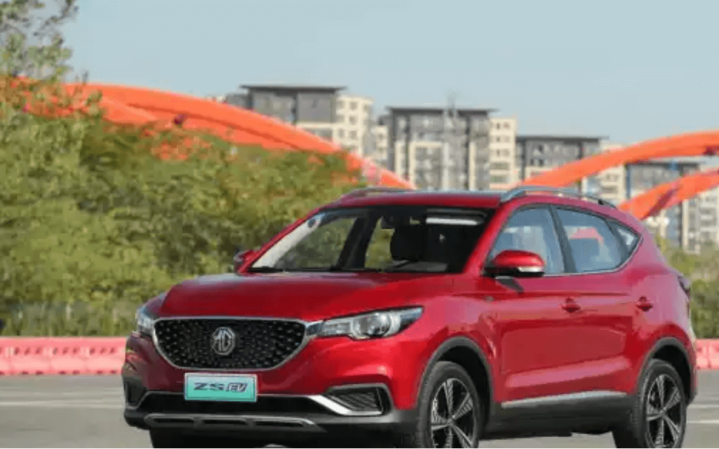 MG ZS EV bookings commence in five cities